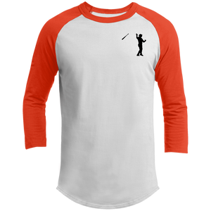 Bat Flip (Black)  Sporty T-Shirt