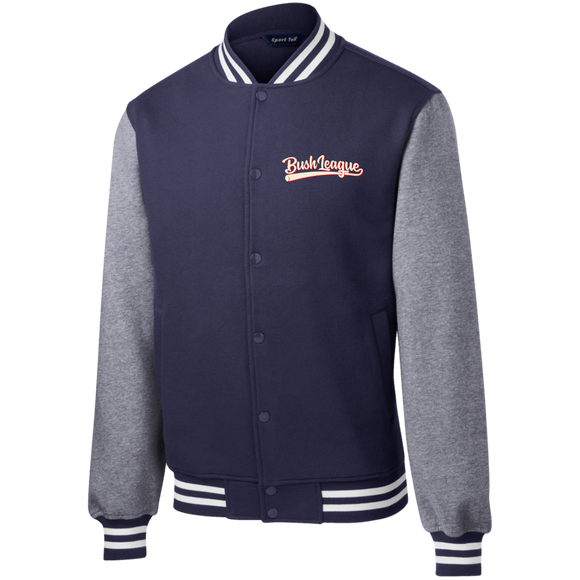 Bush League Fleece Letterman Jacket