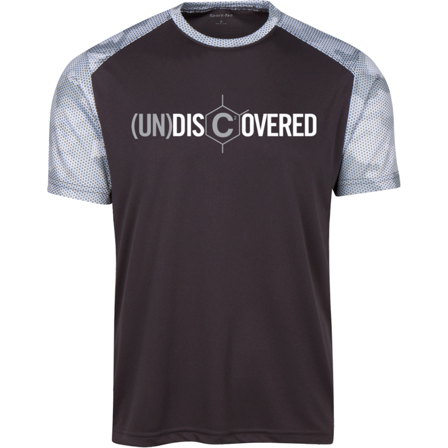 (UN)DISCOVERED Logo Sig CamoHex Colorblock T-Shirt