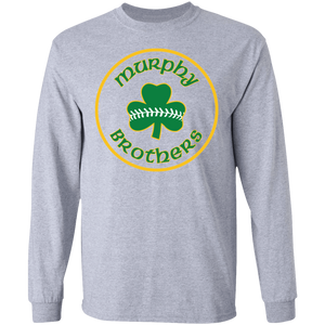 Murphy Brothers Logo  LS Ultra Cotton T-Shirt
