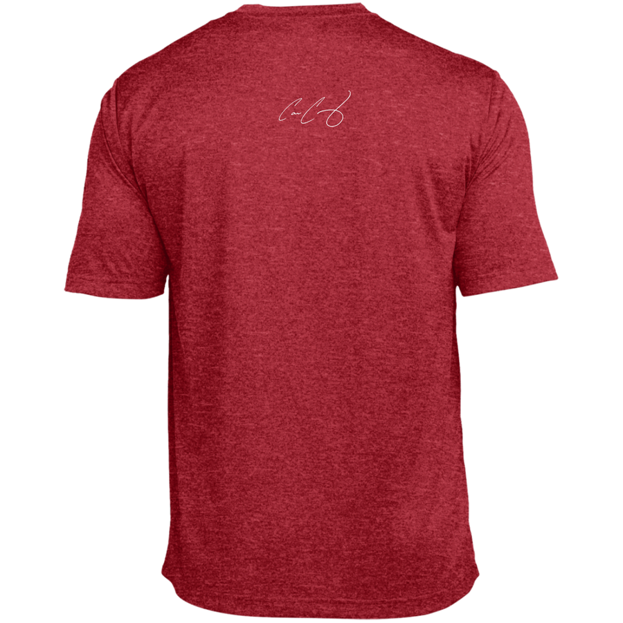 #BIGTEAMGUY Signature Tall Heather Dri-Fit Moisture-Wicking T-Shirt