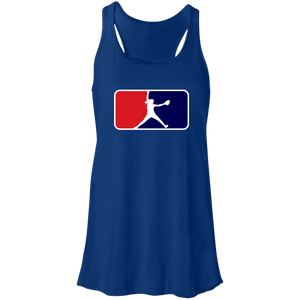 Windmill Shield Ladies Flowy Racerback Tank