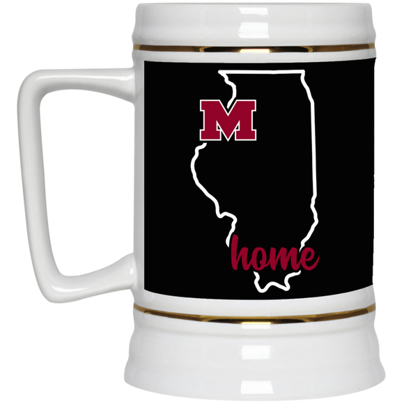 Moline Home Beer Stein 22oz.
