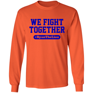 WE Fight Together #RyantheLion LS Ultra Cotton T-Shirt