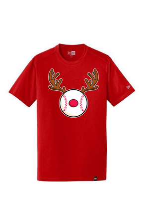 New Era Adult Official Red Noze'z Tee