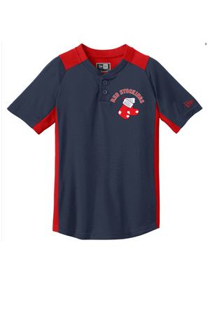 New Era Official Red Stockings Youth Jersey