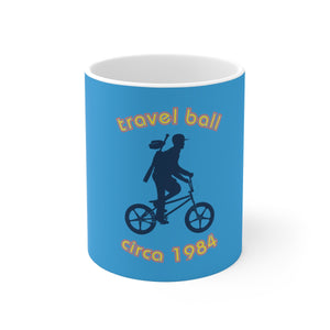 Travel Ball Circa 1984 - Mercantile Ceramic Mug (11oz/15oz)