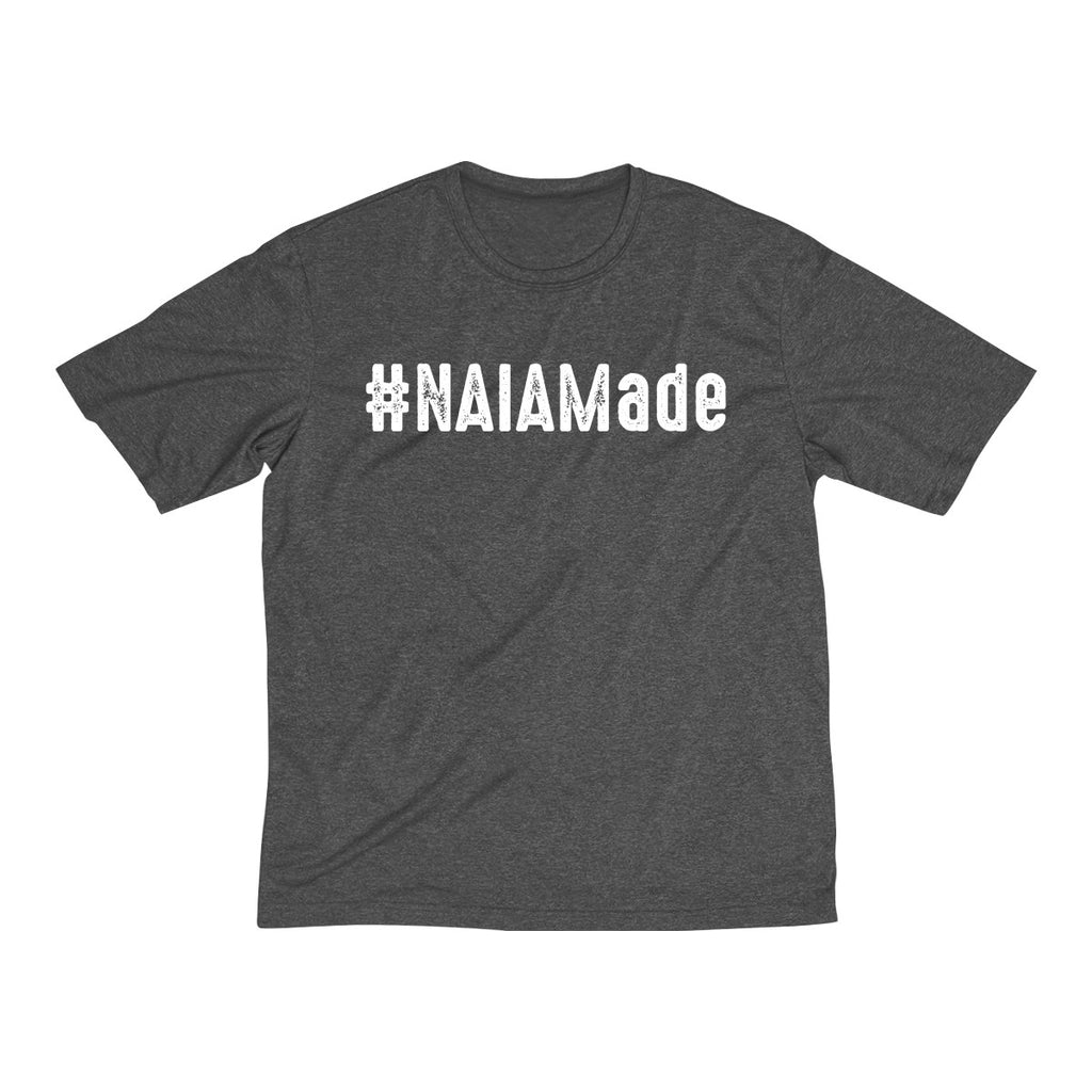 #NAIAMade - Multi-color Men's Heather Dri-Fit Tee