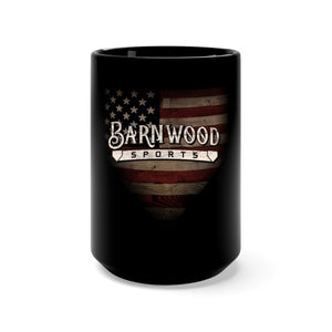Barnwood Sports Black Coffee Mug