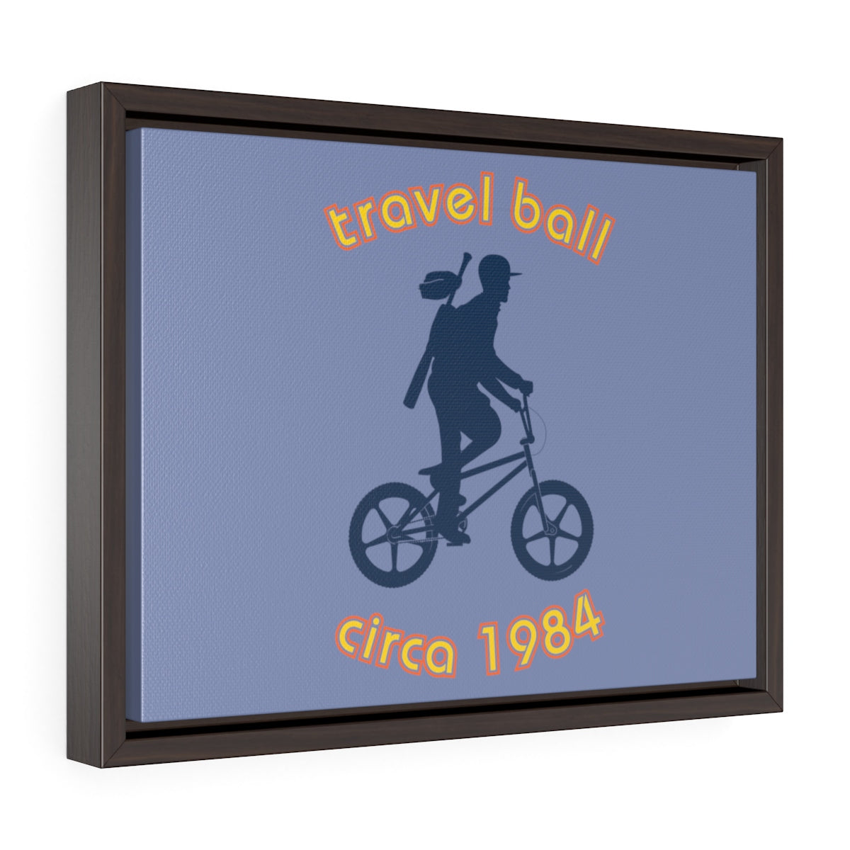 Framed Canvas Travel Ball 1984