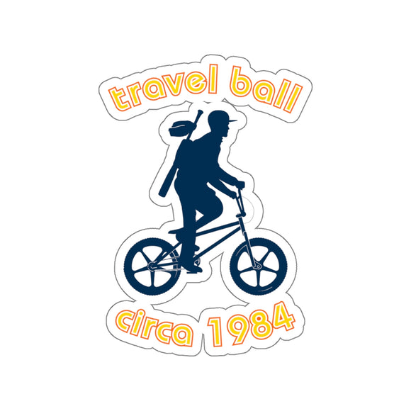 Travel Ball Circa 1984 Sticker - Bush League Mercantile (various sizes)