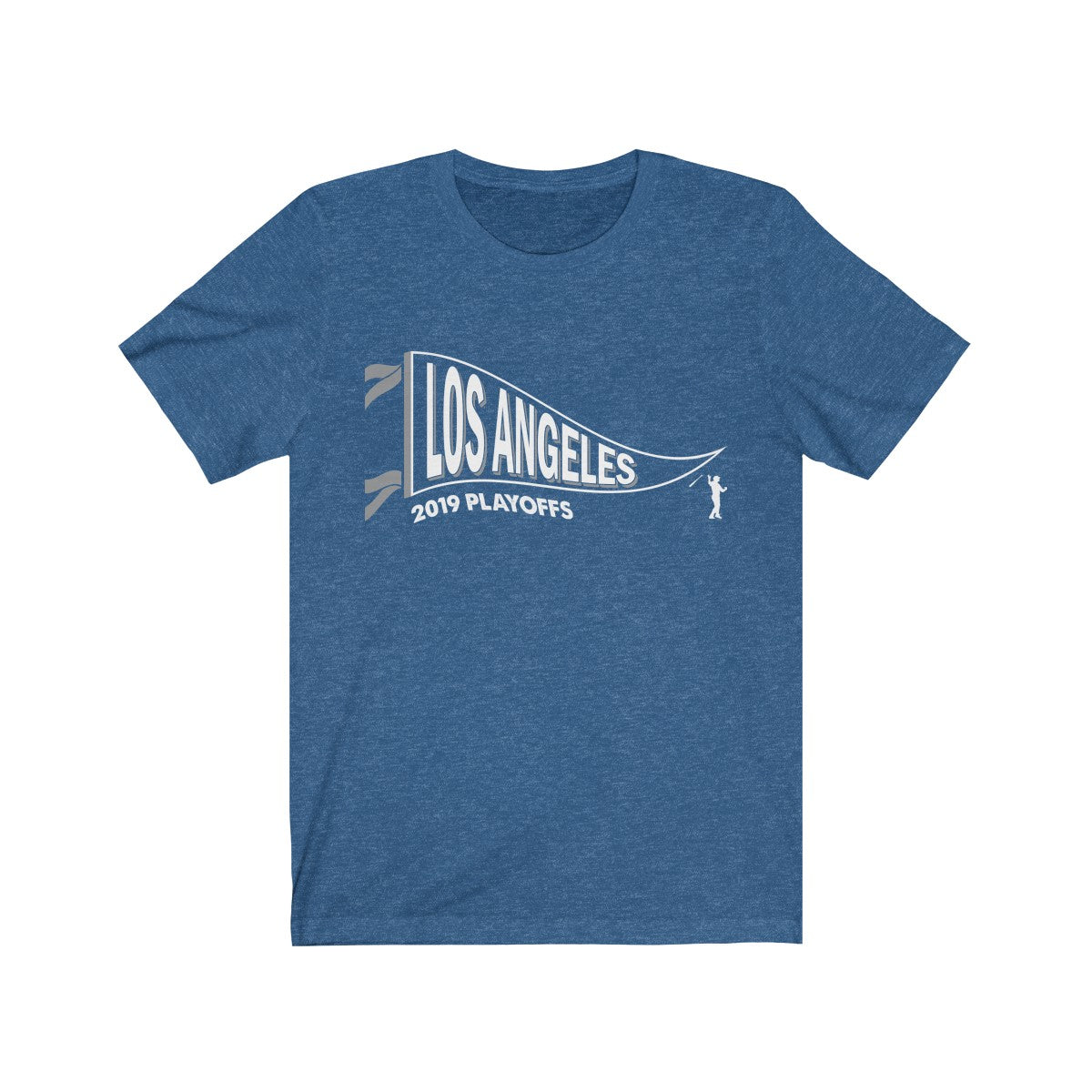 2019 Playoff Pennant Tee - Los Angeles