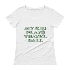 Ladies  Scoopneck Travelball Shirt