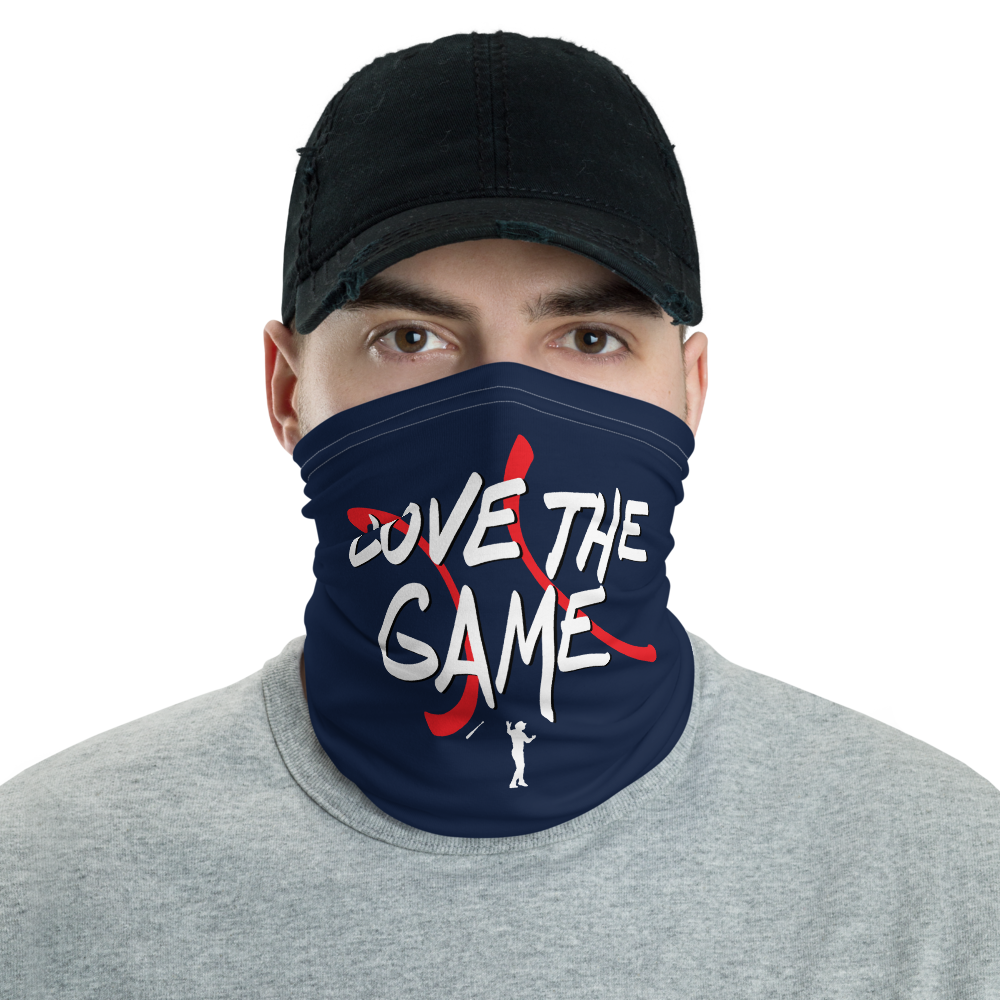 Love The Game Neck and Face gaiter