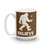 Believe in Baseball Coffee Mug - Bush League Mercantile (11oz/15oz)