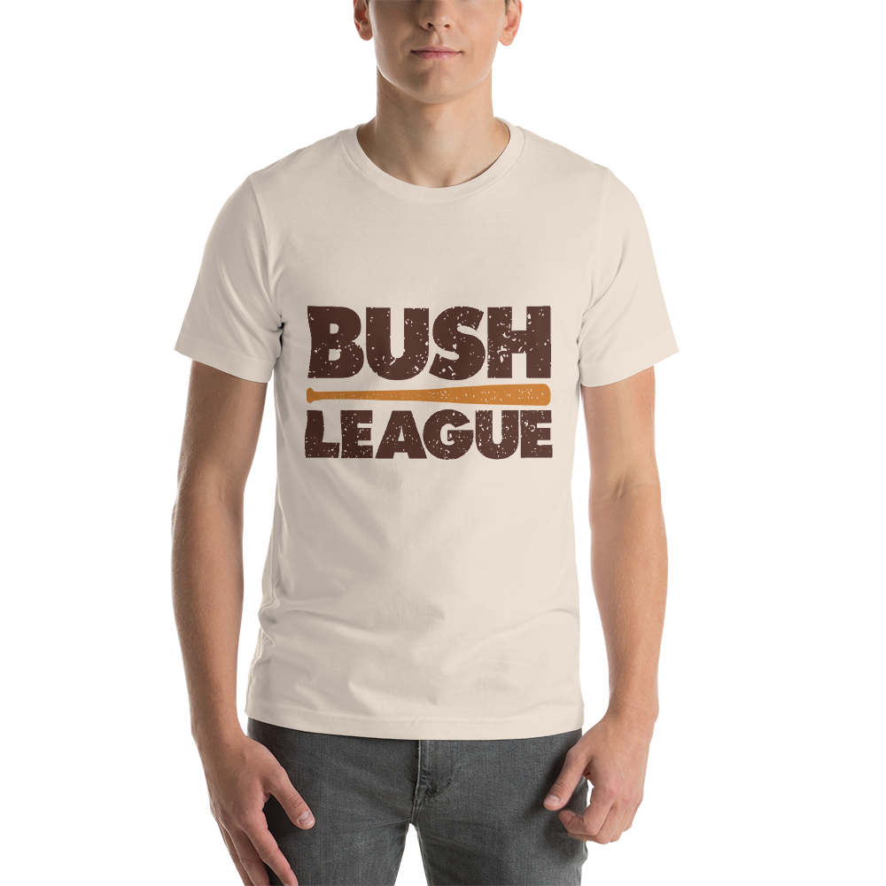 Bush League Distressed Logo - DD