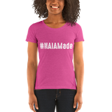 #NAIAMade Ladies' Bella+Canvas short sleeve t-shirt