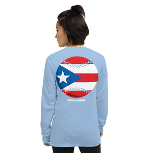 Liga Bush Puerto Rico Baseball LS Ladies Tee