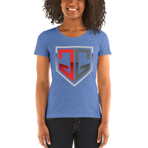 GloveGame Logo - Ladies' short sleeve t-shirt