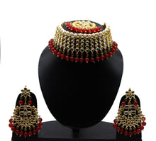 Load image into Gallery viewer, Choker necklace set l Kundan Jewellery l Indian Jewelry