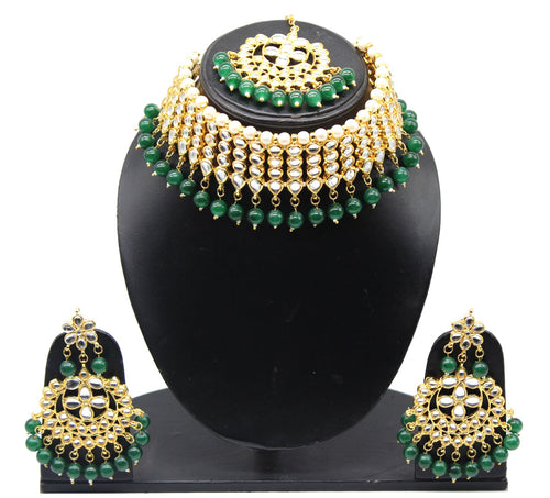 Choker necklace set l Kundan Jewellery l Indian Jewelry