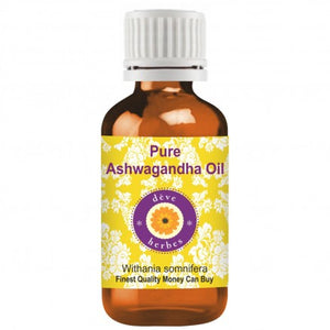 Organic Ashwa gandha Oil - steam distilled VictorianLadiesCarrier Oils