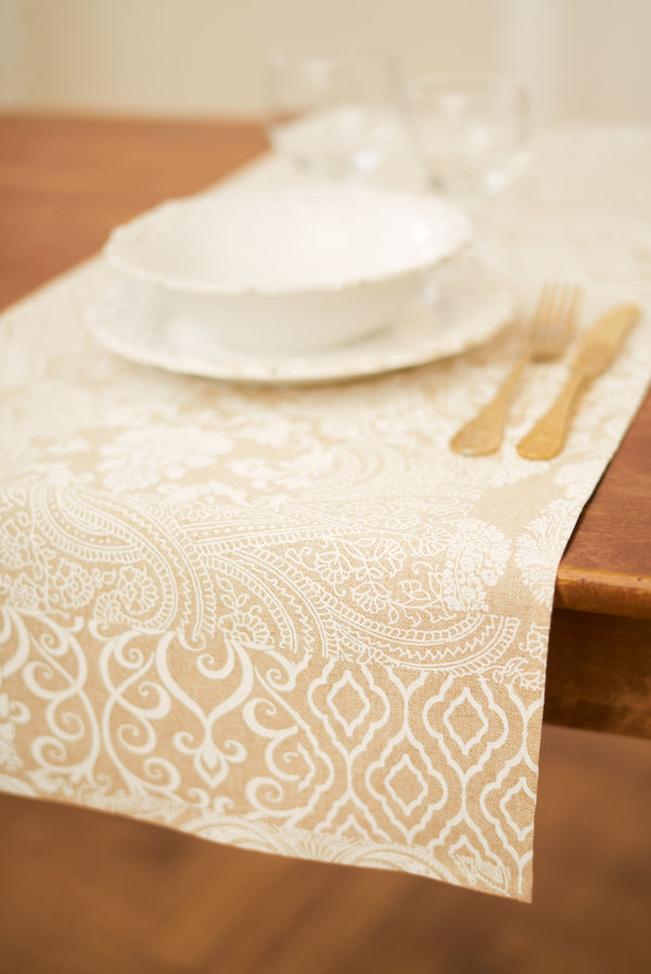 Eastern Motif Pattern Table runner