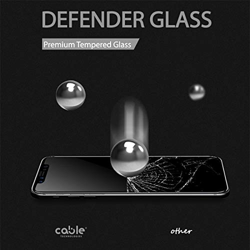 Defender Glass per iPhone X/XS