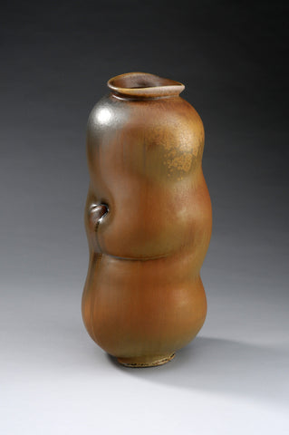 Vase with Dimple and Fold #1611 by Chris Gustin