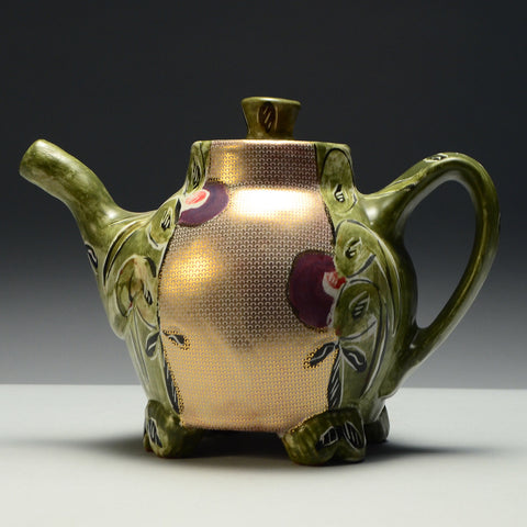 Gold Teapot by Posey Bacopoulos