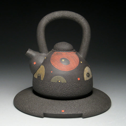 Teapot Set by Debra Oliva