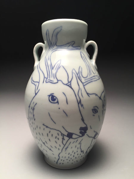 Deer Vase by Sam Momeyer