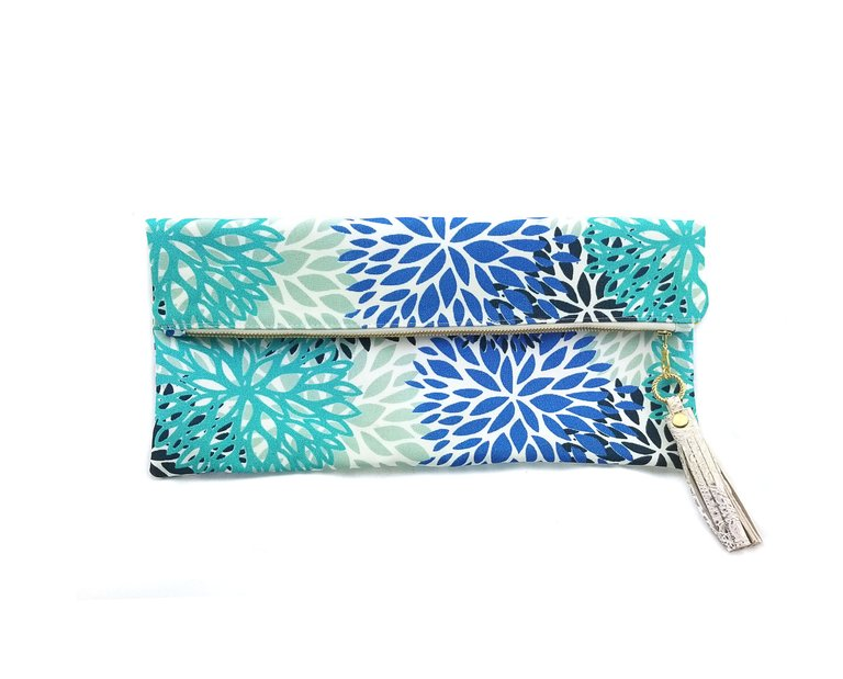 Bloom Fold-over Clutch