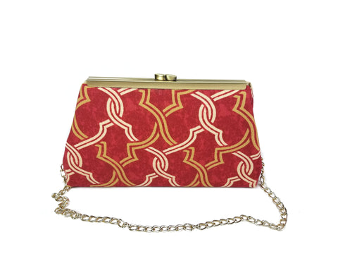 Red Lattice Clutch