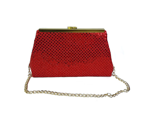 Holiday Edition Glitterazi Red Clutch