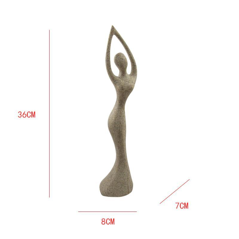 7Styles Nature Resin Sandstone Statues - PhenomHouse
