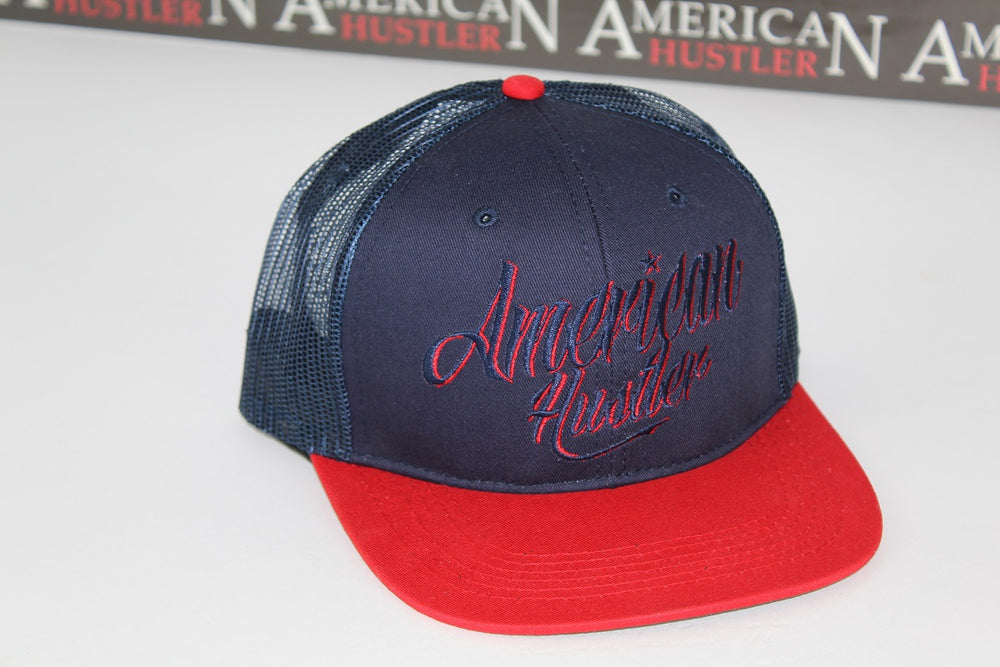 NAVY-RED TRUCKER