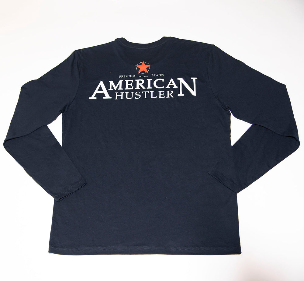NAVY COTTON CREW