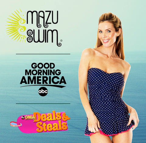 Mazu Swim Good Morning America Deals and Steals with Tory Johnson