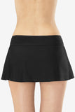 Side Slit Women's Swimskirt with Attached Brief by Mazu Swim