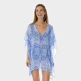 Poly Chiffon Coverup in Kara's Karma by Mazu Swim - Mazu Swim - 4