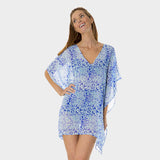 Poly Chiffon Coverup in Kara's Karma by Mazu Swim - Mazu Swim - 3