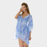 Poly Chiffon Coverup in Kara's Karma by Mazu Swim - Mazu Swim - 1