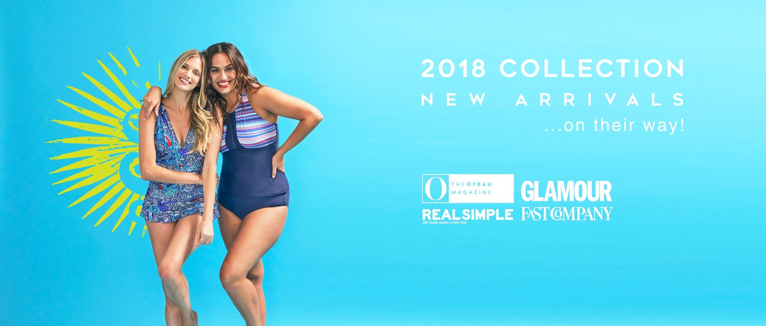 Mazu Swim Women's & Plus Size Affordable Swimwear Sizes 8-24W