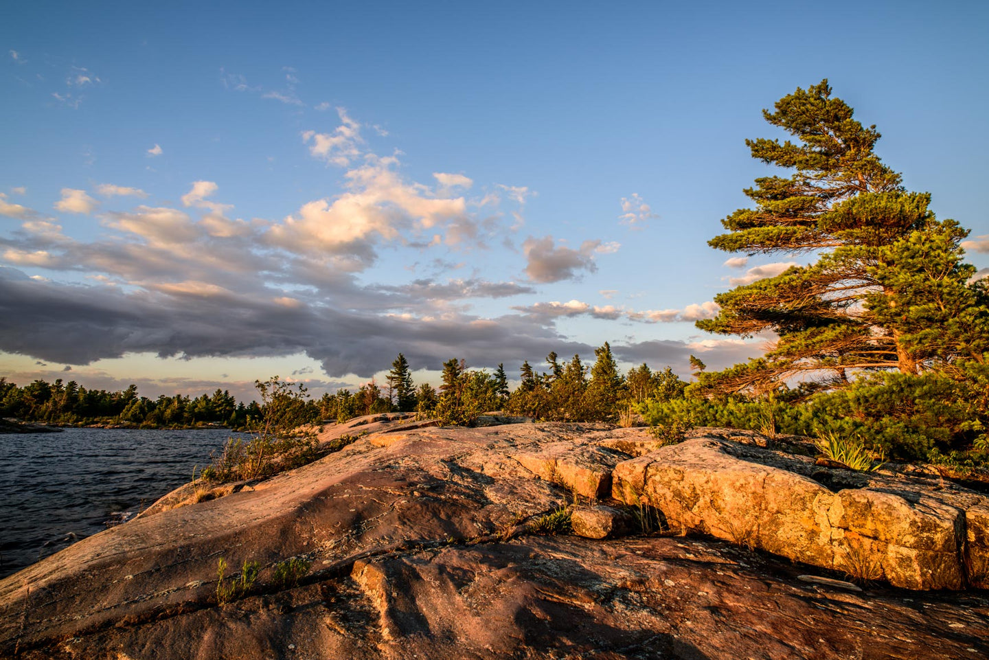 Cunningham Island, Georgian Bay, Golden Hour