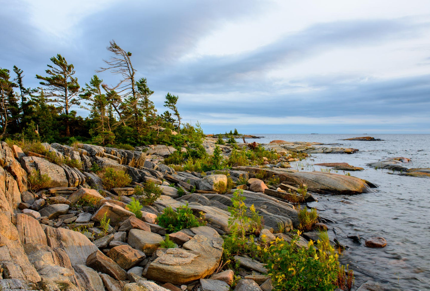 Franklin Island | Golden hour | Georgian Bay
