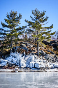 Georgian Bay | Frozen ice | Parry Sound