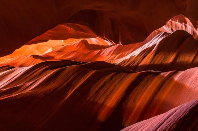 150 Antelope Canyon Light