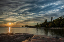Franklin Island | Sunset | paddling