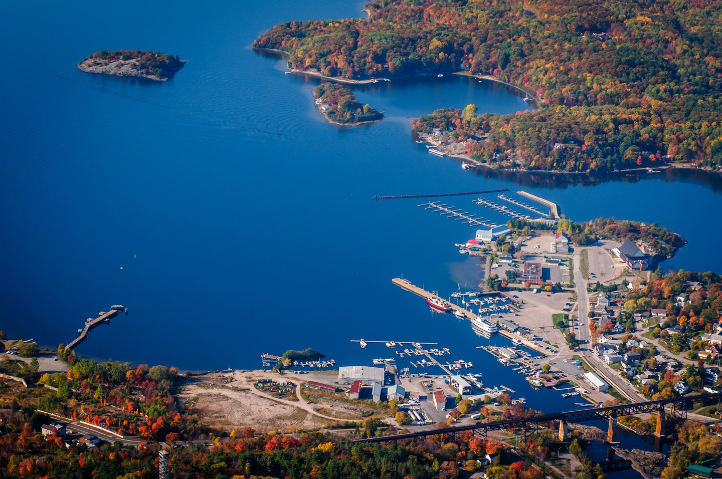 206 Parry Sound Harbour Fall